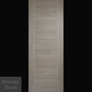 Vancouver Light Grey Laminate Fire Door