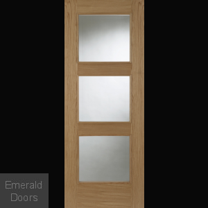 Madrid 3L Oak Clear Glazed