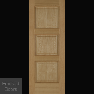 Madrid 3P Oak Fire Door