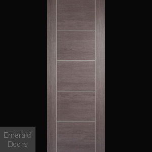 Vancouver Medium Grey Laminate Internal Door