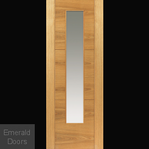 Mistral Oak Glazed Door
