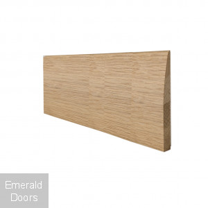 Modern Profile Oak Skirting
