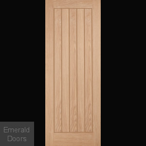 Belize Oak Fire Door