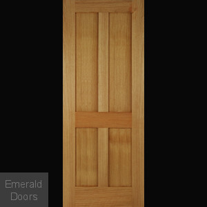 Bristol Oak 4 Panel Internal Door