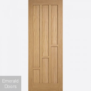 Coventry 6 Panel Oak Fire Door