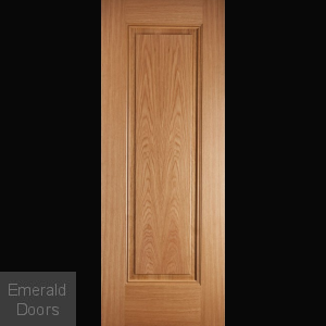 Oak Eindhoven 1 Panel Prefinished Internal Door