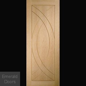 Treviso Unfinished Oak Fire Door