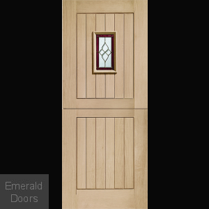 Chancery Onyx Tri-Glazed Stable Door