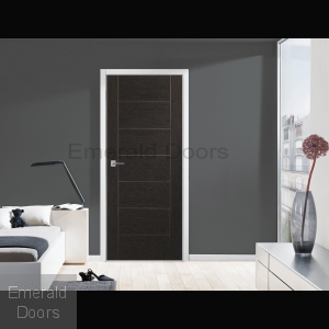 Palermo Dark Grey Door In Situ