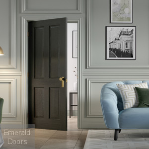 Regency 4P Smoked Oak Internal Door