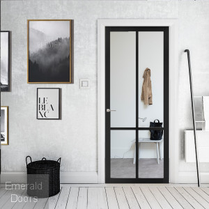 Custom Made WK5136C Slimstile 80mm Industrial Style Door