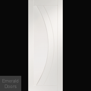 Salerno White Primed Internal Door