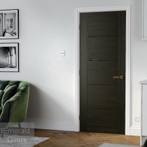 Vancouver Smoked Oak Internal Door