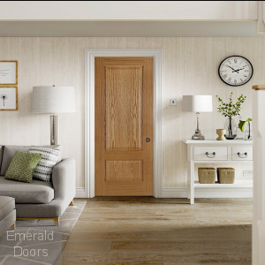 Chiswick Panel Door In Roomset