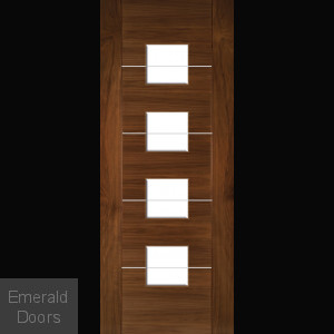 Valencia Internal Door with Clear Glass