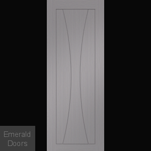 Verona Light Grey Fire Door