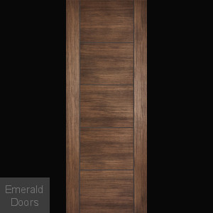 Vancouver Walnut Laminate Internal Door