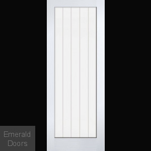 WHITE MOULDED TEXTURED VERTICAL 1L
