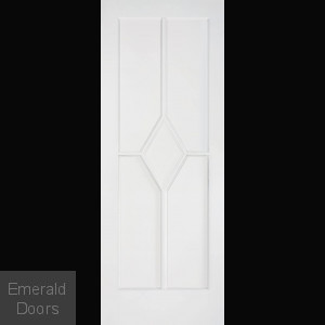 Reims White Primed Fire Door