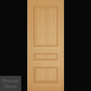 Windsor 3 Panel Oak Interior Fire Door