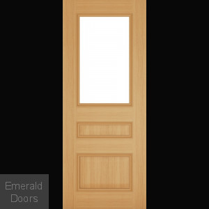 Windsor Clear Glazed Oak Interior Door