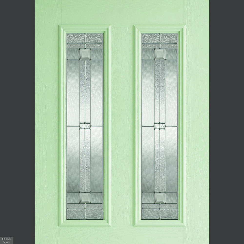 Buy Grp Green Malton 2 Light Composite External Door