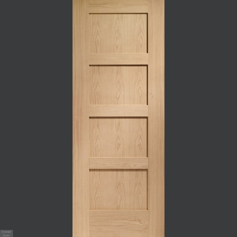 Buy Sliding French Doors With Shaker Oak Doors Emerald Doors