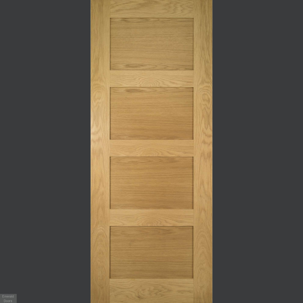 Buy Coventry Internal Oak Door Fully Finished Emerald Doors