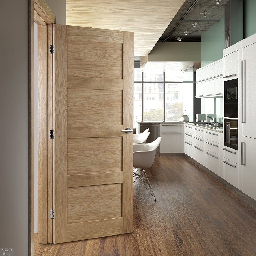 & Buy Internal Oak Coventry Fire Door | Emerald Doors