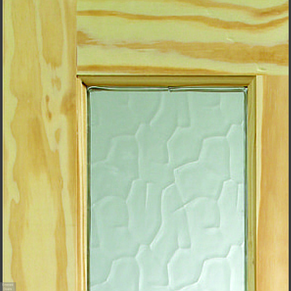 Malton External Clear Pine Door Dowelled With Flemish Glass