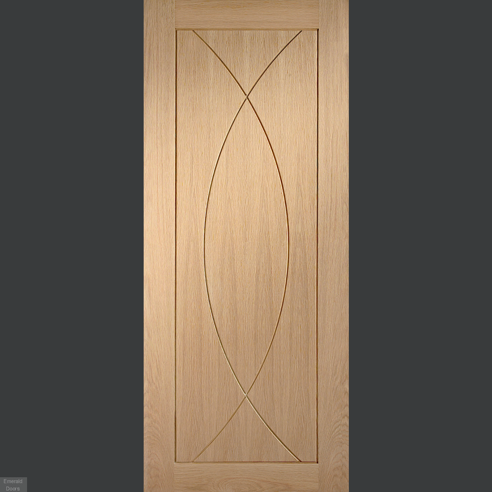 Buy Pesaro Oak Internal Door Emerald Doors