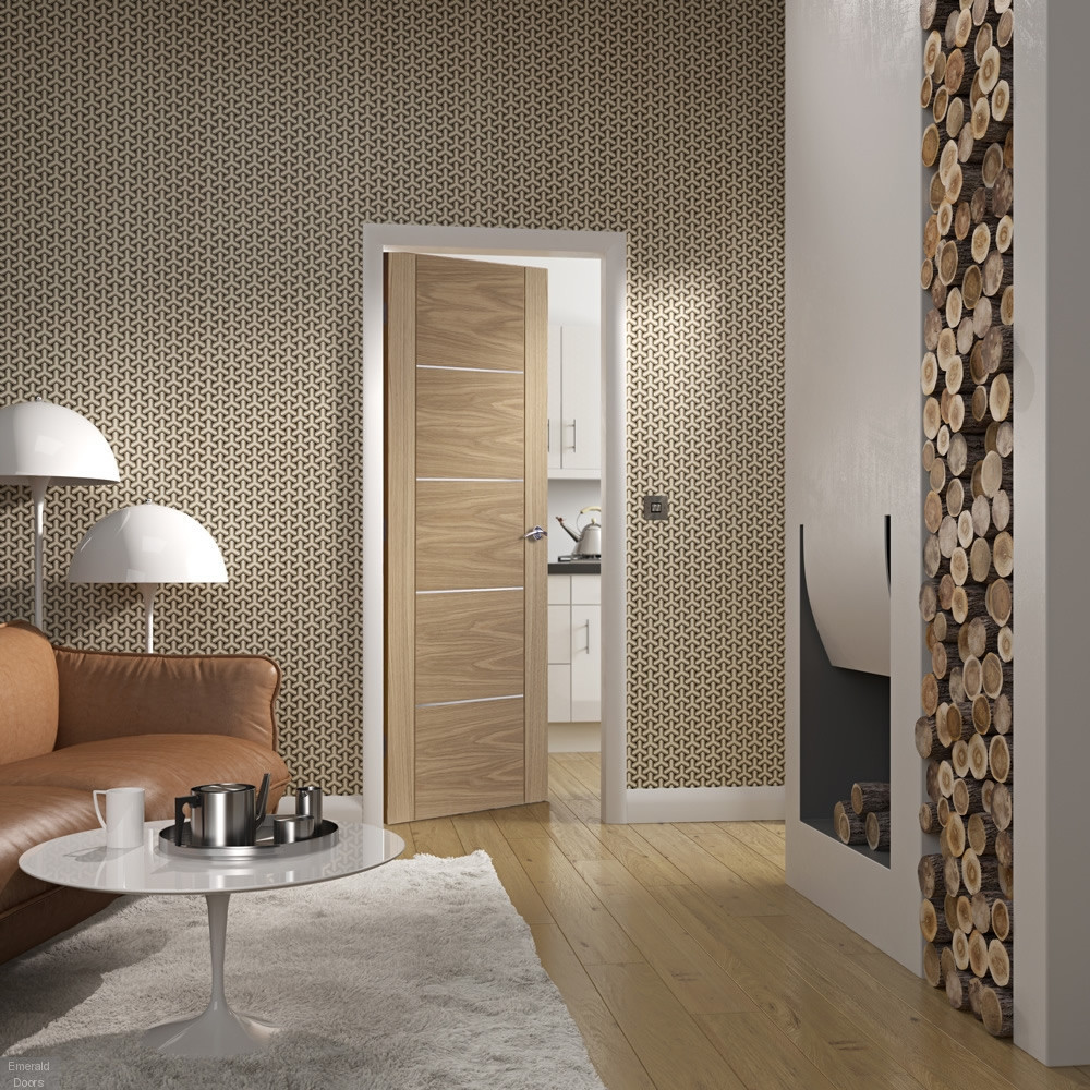 Buy Portici Oak Internal Door Emerald Doors
