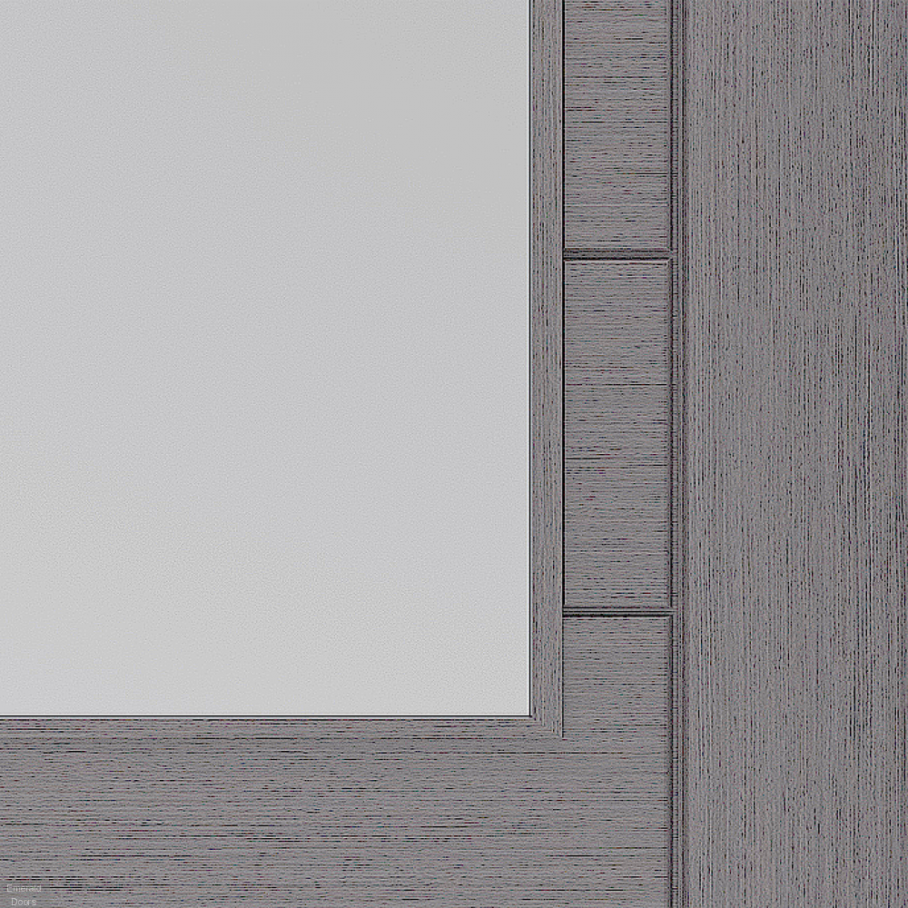 Buy Palermo Light Grey French Doors With Clear Glass