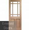 Warwick Unglazed M&T Door