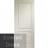 White Moulded Caprice 2 Panel Door