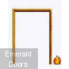 Solid Oak Fire Door Frame Double Doors