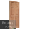 Colonial Hardwood External Dowelled Door Skewed Image