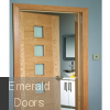 Modern Profile Oak Architrave Single Door