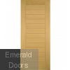 Oak Malmo External Door