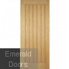 Mexicano Oak Fully Finished FD30 Door