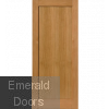 Oak Etna 1 Panel Internal Door