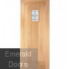 Cottage Oak Lead External Door