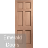 Colonial Hardwood External Dowelled Door