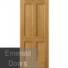 River Oak Derwent Fire Door
