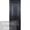 Arnhem Black 2P Internal Door