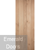 Solid Oak Ledged Internal Door