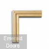 Ogee Profile Oak Architrave Double Doors