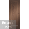 Varese Walnut Fire Door