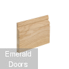 Ogee Profile Oak Skirting