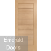 Modena External Oak Door